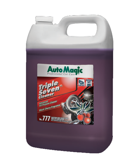 Auto Magic Triple Seven All Purpose Cleaner for paint, vinyl, chrome, and trim. 1 gallon