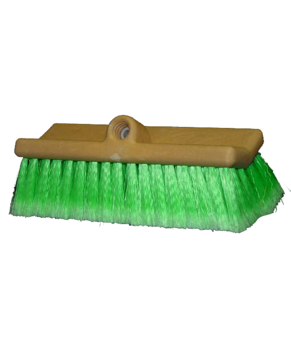 Truck Brush Green Dual Surface
