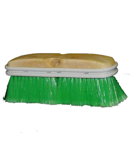 Truck Brush Green