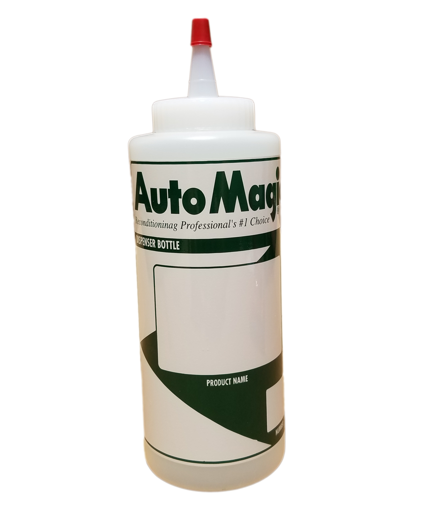 Wax Bottle 12oz Auto Magic w/ Yorker Top - Auto Magic