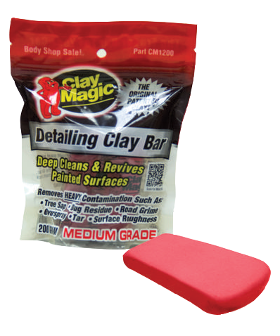 Clay Magic Detail Bar (Red, Medium) - Auto Magic