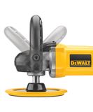 "Dewalt Variable Speed Polisher 7"" / 9"" with Soft Start DWP849X front view"