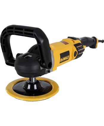 "Dewalt Variable Speed Polisher 7"" / 9"" with Soft Start DWP849X"
