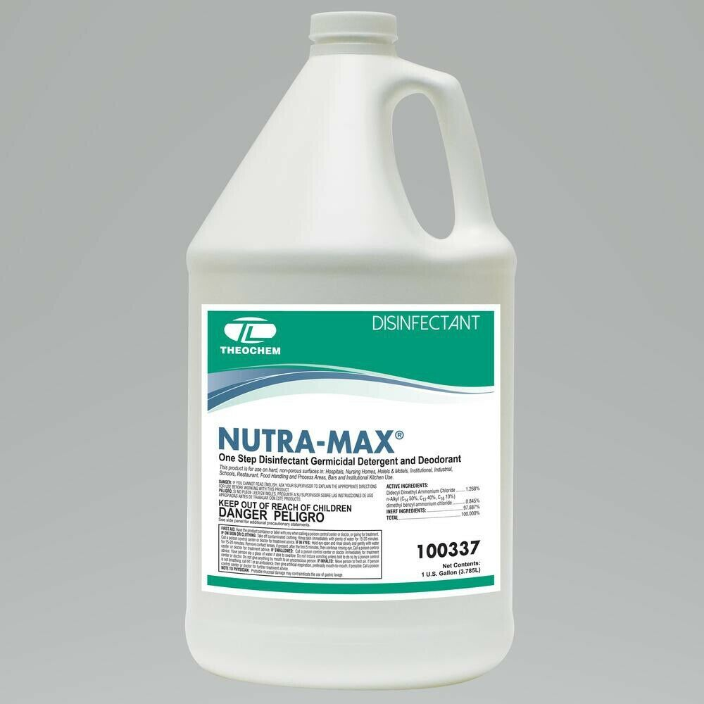Nutra-Max Disinfectant, Cleaner, Fungicide and Virucide