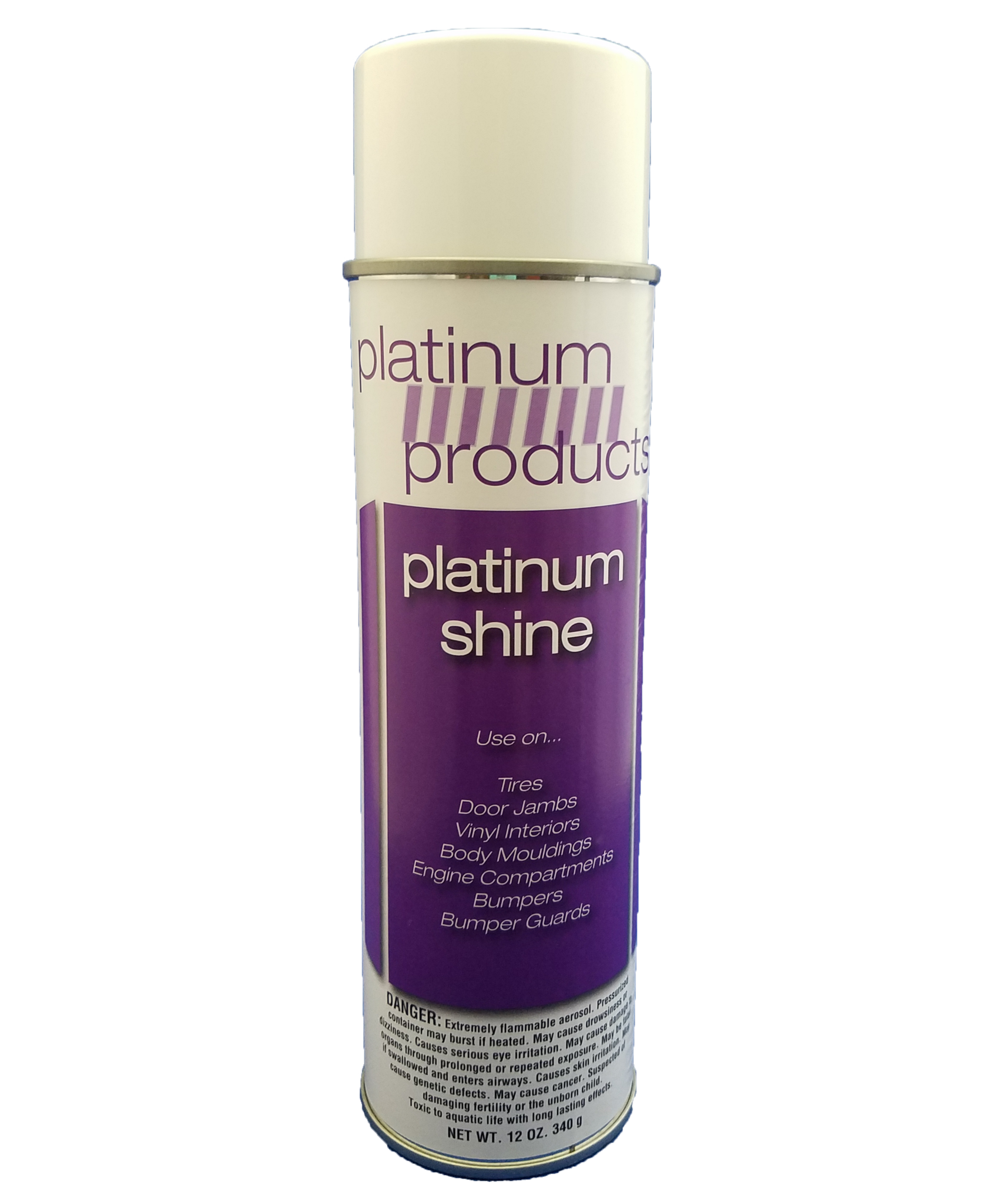 Platinum Products: Platinum Shine final detailer. Aerosol 12oz. detail spray.