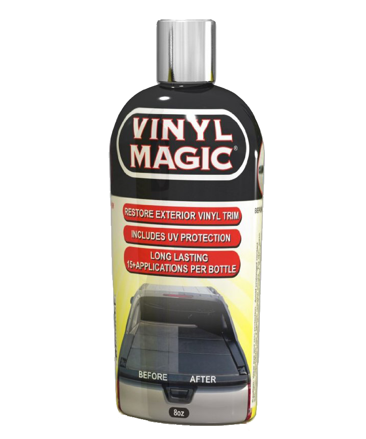 Vinyl Magic Trim Restoration- Auto Magic