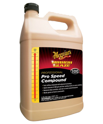 DetailNet: Meguiar's Mirror Glaze Pro Speed Compound M100  gallon