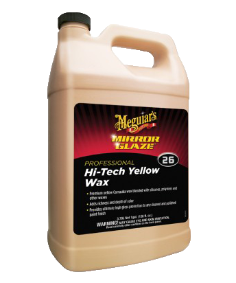 Mequiar's Mirror Glaze® Hi-Tech Yellow Wax M26