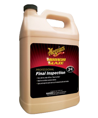 Meguiar's Mirror Glaze® Final Inspection M34