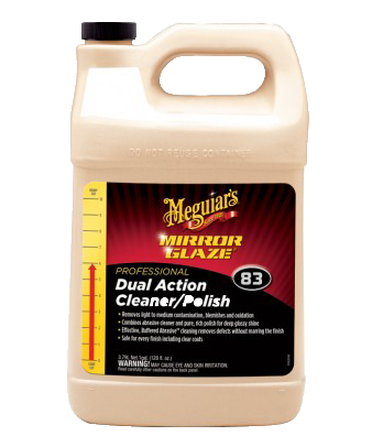 Mequiar's Mirror Glaze® Dual Action Cleaner Polish M83