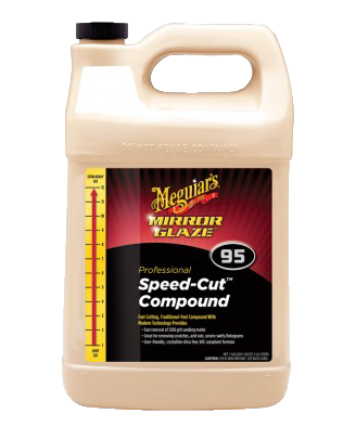 Meguiar's Mirror Glaze® Speed Cut Compound M95