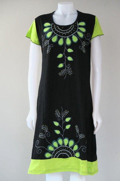 Leaf Necklace C/S Dress
