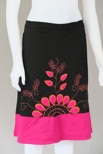 Leaf Design Skirt