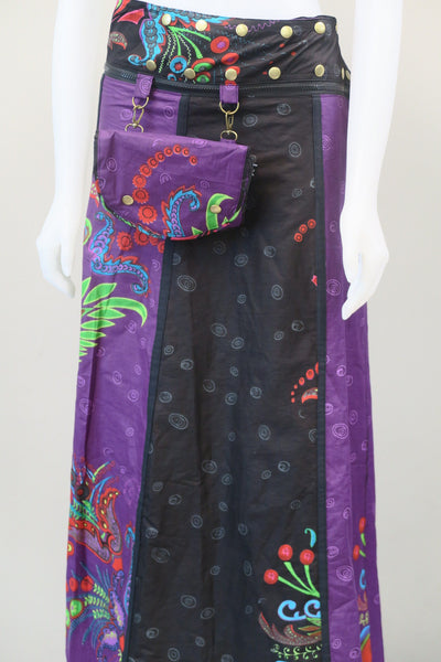 Reversible Long Belt / Skirt