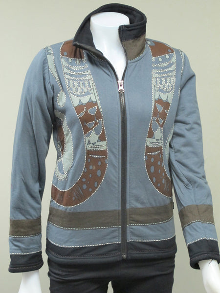Ganesh Short Fleece Lined Jacket