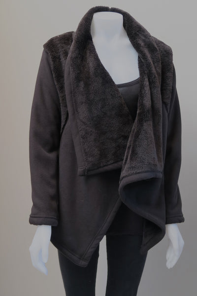 Fur/ Fleece Reversable Jacket