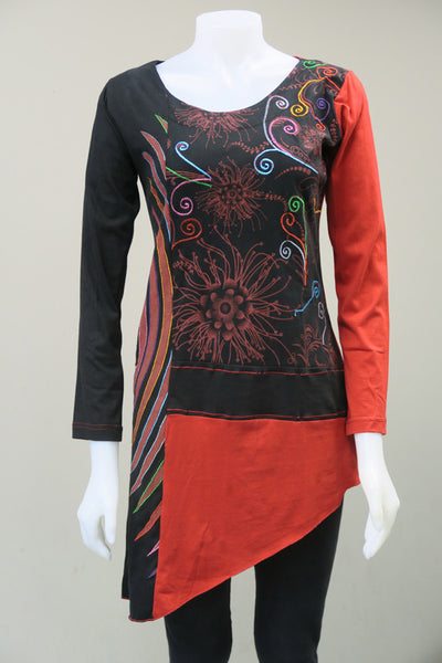 Digital Print Emb Tunic
