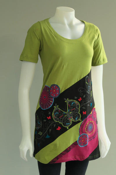 Half Sleeve Butterfly Tunic