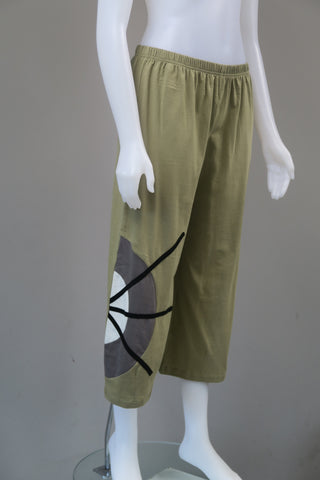 Organic Cotton Half Circle Pants