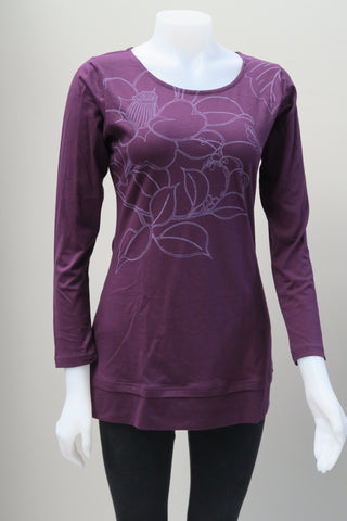 Organic Cotton Flower Print Tunic