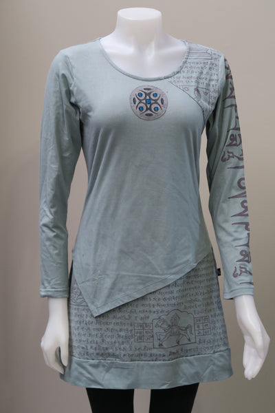 Organic Cotton Layered Mantra Tunic