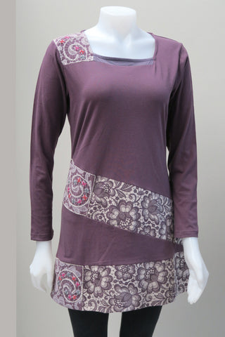 Organic Cotton Emb.Patch Tunic