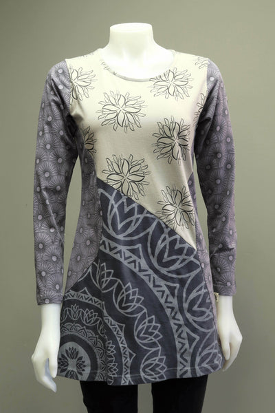 Org. Cotton Print Tunic