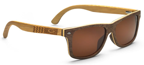 Georgia Bulldogs Rio Wood Sunglasses