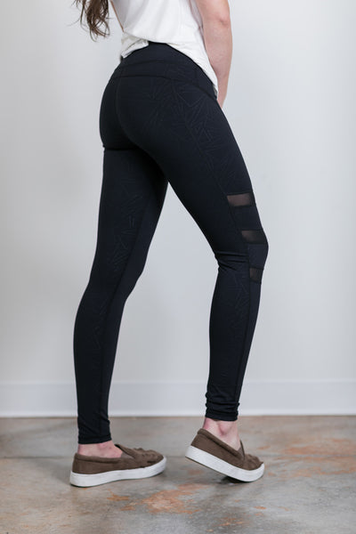 geo triple mesh leggings