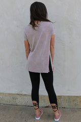 breaking the rules open shoulder top