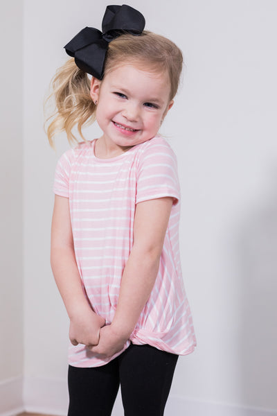 popsicle pink toddler top