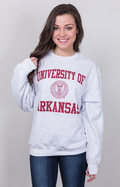u of a crest sweatshirt