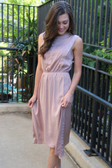 dreaming of you blush dress