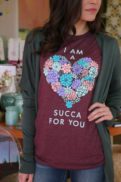 succa for you tee