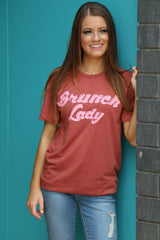 brunch lady tee