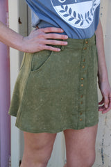 creekside stone washed skirt