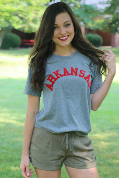 college arkansas tee