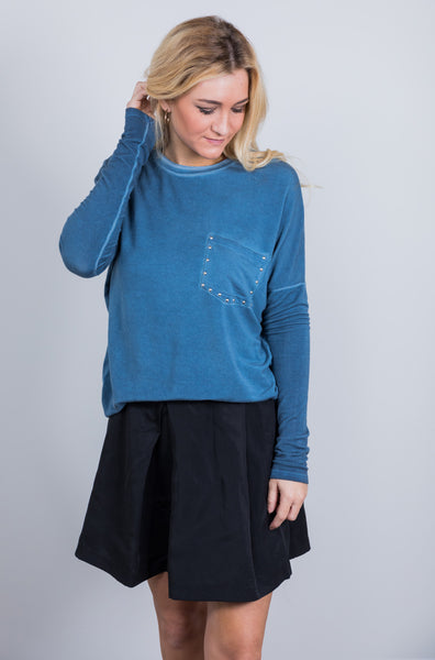 charlie mineral washed top