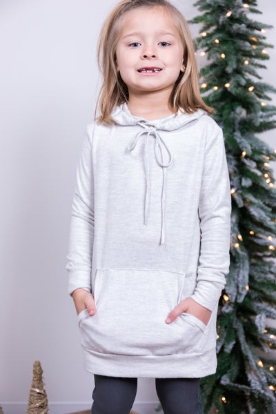 waiting for snow girls tunic