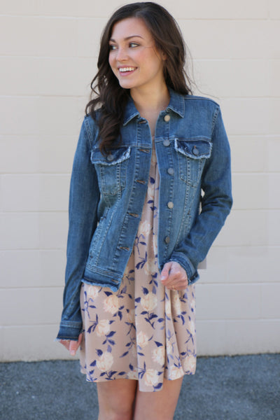 julie denim jacket by articles of society