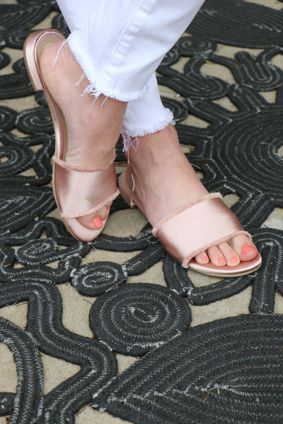 pattie satin sandals