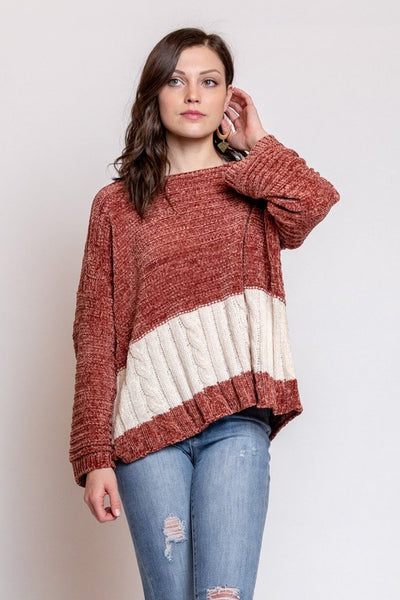 changing ways stripe sweater