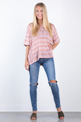 easy going dolman top