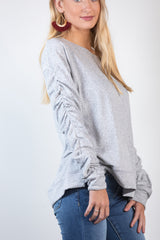 all cinched up sweater