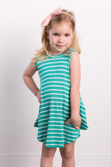 stripe a pose toddler dress