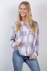 pretty in pink flannel