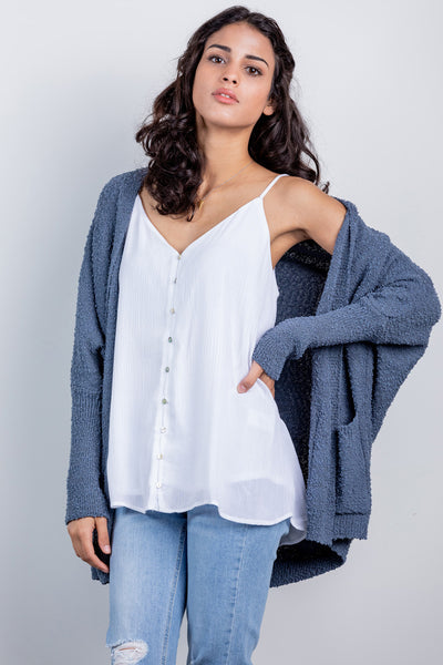 summer breeze cardi-blue