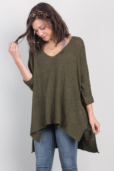 all the fall goals sweater-olive