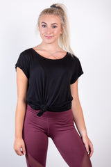 work it out basic top - black