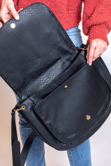 maisy messenger bag-black